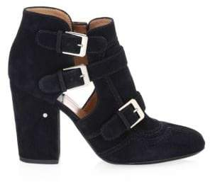 Laurence Dacade Sheena Suede Cutout Booties