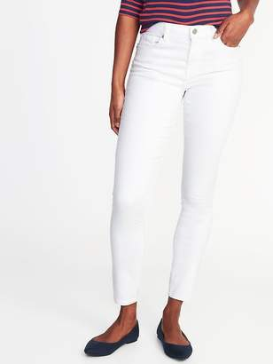 Old Navy Mid-Rise Curvy Clean-Slate Skinny Jeans for Women