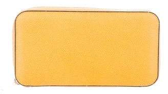 Valextra Leather Continental Wallet