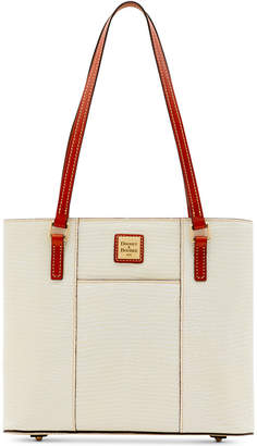 Dooney & Bourke Lizard-Embossed Leather Small Lexington Tote