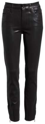 Paige Transcend - Hoxton High Waist Zip Ankle Peg Jeans
