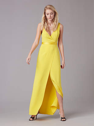 Asymmetric Side Slit Gown $898 thestylecure.com