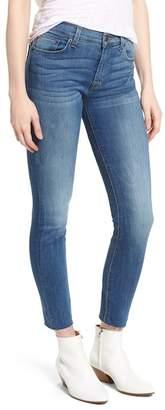 Hudson Nico Raw Hem Crop Super Skinny Jeans (Billow)