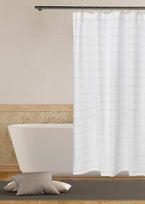 Duck River Textile Fiona Metallic Shower Curtain