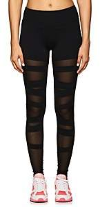 Electric Yoga WOMEN'S MESH-INSET JERSEY LEGGINGS