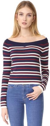 J.O.A. Stripe Sweater