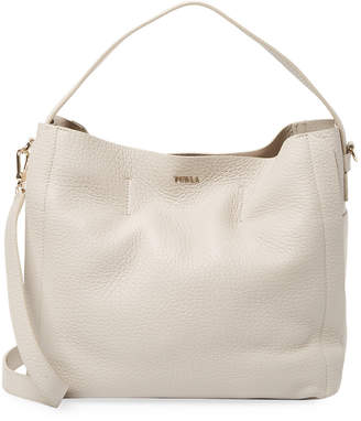 Furla Leather Capriccio Medium Hobo
