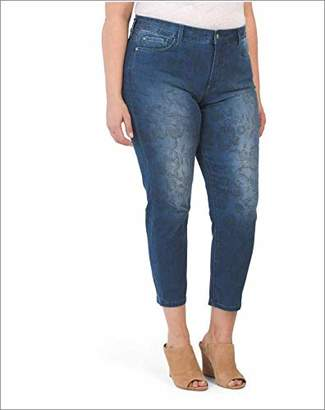 27834a21c193 NYDJ Women's Plus Size Alina Skinny Convertible Ankle Jeans