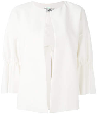 Alberto Biani ruffled sleeves jacket