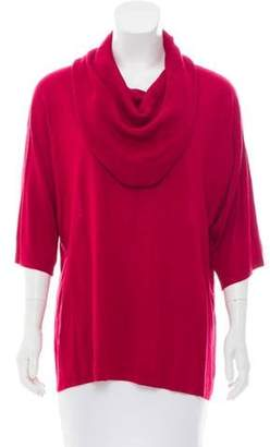 Michael Kors Cowl Neck Knit Sweater Red Cowl Neck Knit Sweater