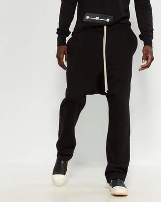 Rick Owens Drop Crotch Drawstring Pants