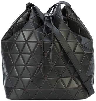 Bao Bao Issey Miyake matte triangle PVC shoulder bag