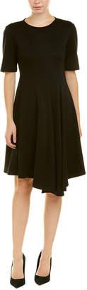 Lafayette 148 New York Petite Aveena Wool A-Line Dress