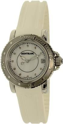 Montblanc Mont Blanc Women's Sport 35278 Rubber Swiss Quartz Watch