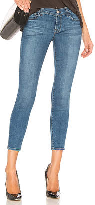 J Brand 9326 Low Rise Crop Skinny Jean.