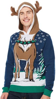 NOVELTY SEASON Christmas Deer Graphic Hoodie