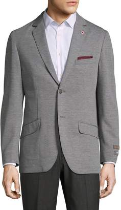 Ben Sherman Men's Non-Solid Notch Lapel Sportcoat