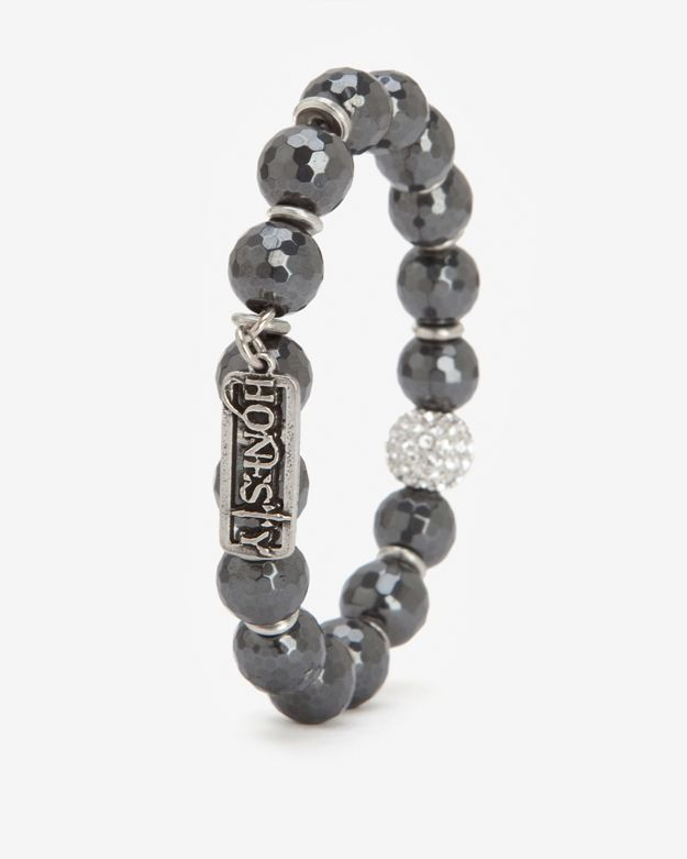 Honesty Pave Ball Bead Bracelet
