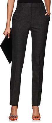 Calvin Klein Women's Checked Worsted Wool Trousers
