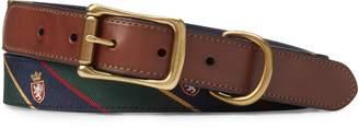 Ralph Lauren Heritage Tie-Silk Belt