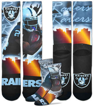 For Bare Feet Marshawn Lynch Oakland Raiders City Star Player Crew Socks
