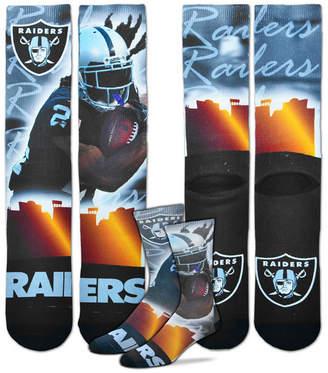 For Bare Feet Marshawn Lynch Oakland Raiders City Star Player Crew Socks