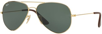 Ray-Ban Youngster RB3558 58mm Aviator Sunglasses