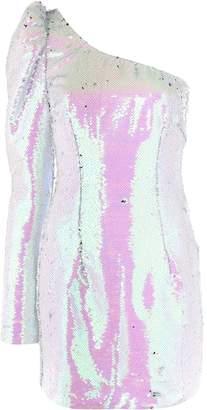 Amen one-shoulder mini dress