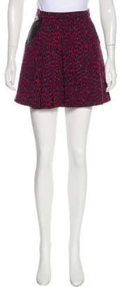 Christopher Kane Wool Mini Skirt