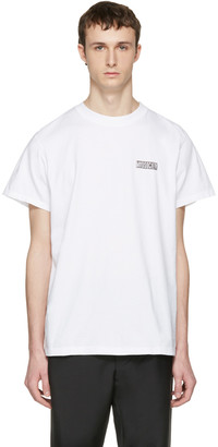 Noon Goons White 'Mad Society' T-Shirt $60 thestylecure.com