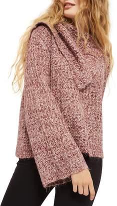 Topshop Lofty Envelope Neck Sweater