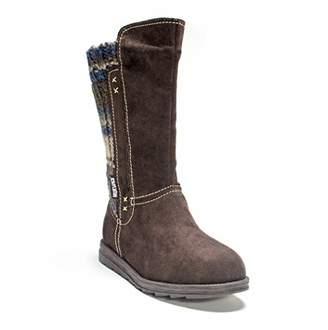 Muk Luks Women's Stacy Stripped Winter Boot