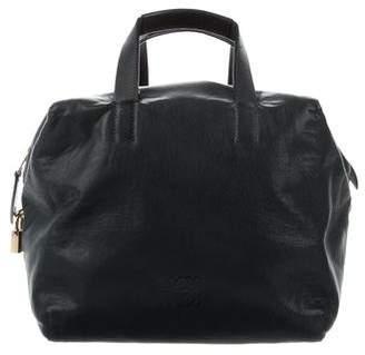 Loewe Leather Top Handle Satchel
