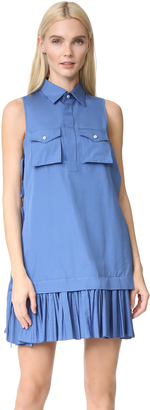 DSQUARED2 Sleeveless Dress $1,160 thestylecure.com