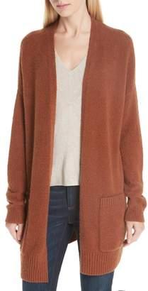 Eileen Fisher Long Organic Cotton Blend Cardigan