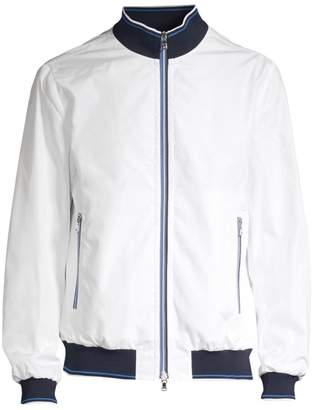 Paul & Shark Woven Zip-Front Jacket