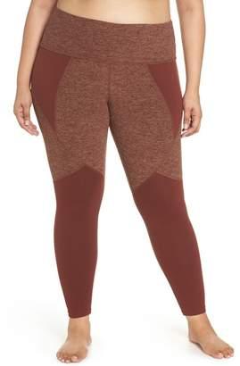 9e695ba2000 ... Beyond Yoga Paneled Space Dye High Waist Leggings (Plus Size)