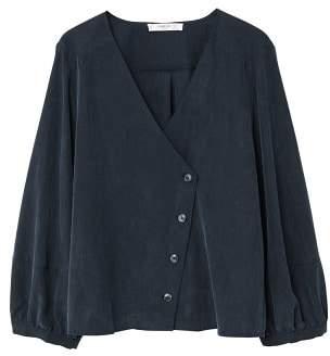 MANGO Wrap blouse