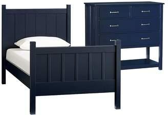 Pottery Barn Kids Bed, Dresser & Luxury Firm Mattress Set
