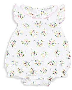 Kissy Kissy Petite Pansies Pima Cotton Bubble Bodysuit