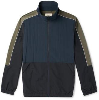 Folk Panelled Nylon Track Jacket