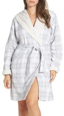 UGG Anika Fleece Lined Flannel Robe