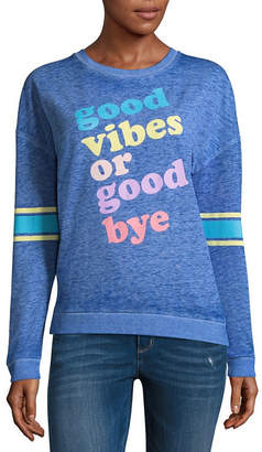 Fifth Sun Good Vibes or Goodbye Sweatshirt - Junior