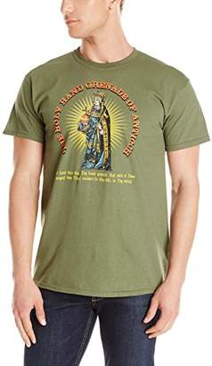 Liquid Blue Men's Plus-Size Holy Hand Grenade T-Shirt