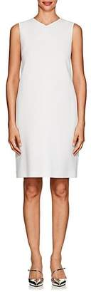 Lisa Perry WOMEN'S CREPE SHIFT DRESS - WHITE SIZE 6