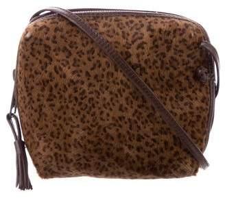 Bottega Veneta Ponyhair Crossbody Bag