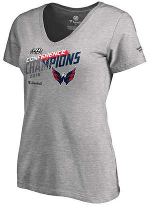 Majestic Women's Washington Capitals Big Time Play Conference Champ T-Shirt