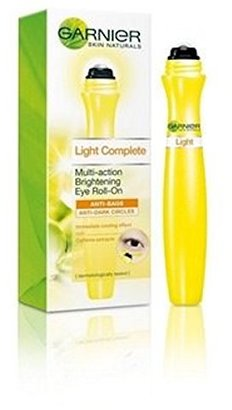 Garnier Light Brightening Eye Roll-on 15 ml (0.5 Oz) anti bags - anti dark circles : bags and dark circle reduces within 1 month $11.35 thestylecure.com