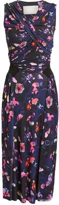 Jason Wu Floral Midi Dress