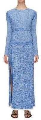 CHRISTOPHER ESBER Deconstruct Long-Sleeve Dress